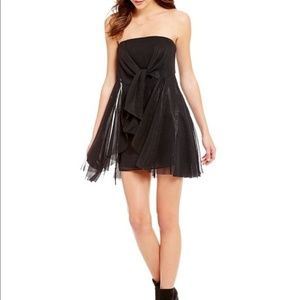 Free People Good For You Black Mini Dress  NWT